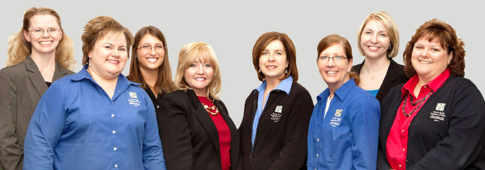 Our dental administrative staff